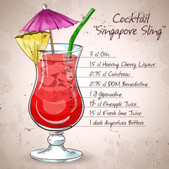 Best Singapore Sling Recipes