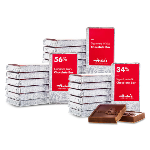 Mini Chocolate Bars: Signature or Single Origin Chocolate