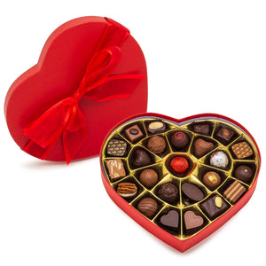 Valentine Heart Shaped Box - Assorted Chocolates