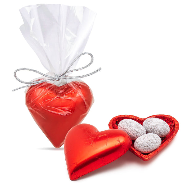 Valentine Chocolate Heart - filled with Chocolate Almonds