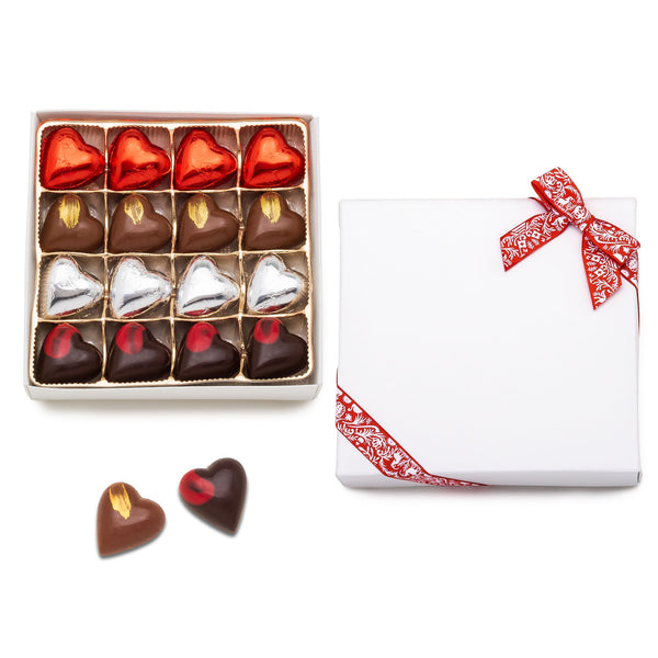 Valentine Truffle Hearts - Four Flavor