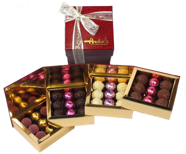 Four Tier Truffle Box