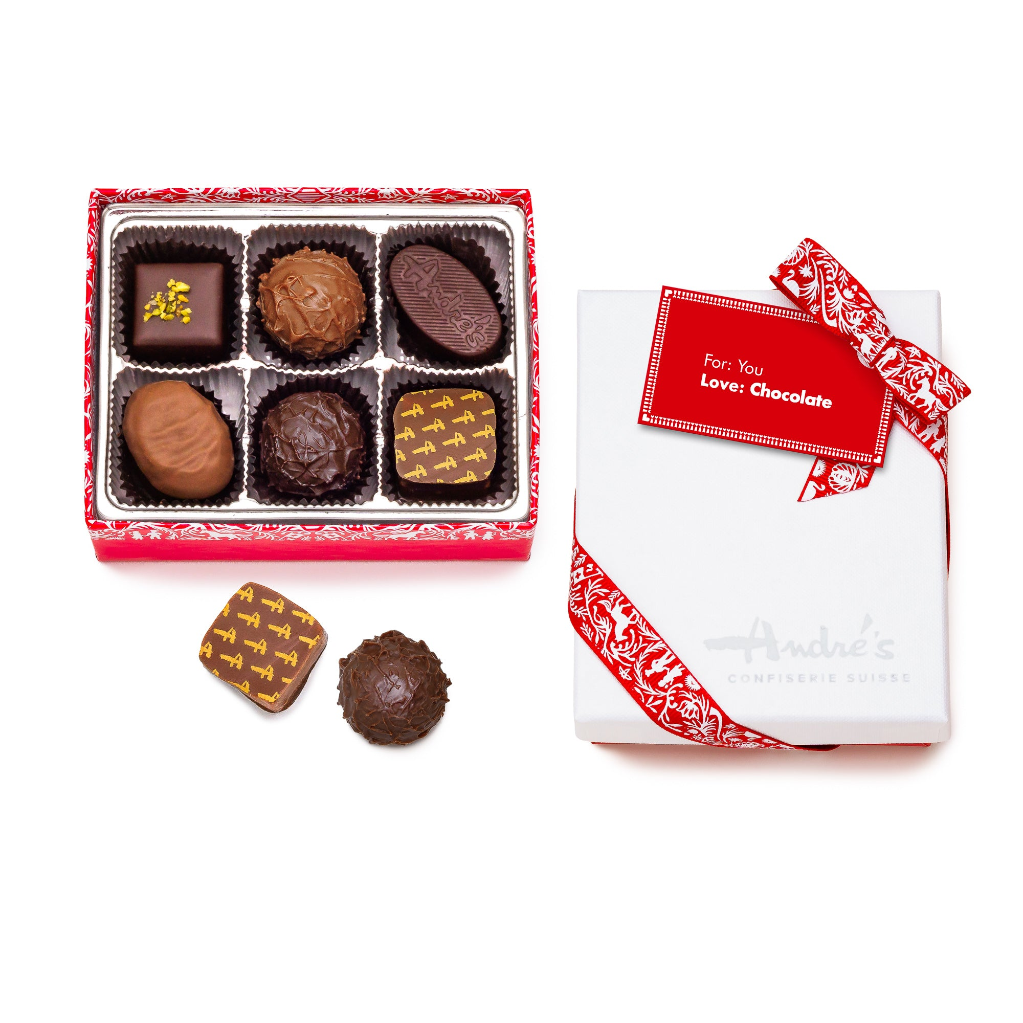 Valentine Chocolate Candies Box