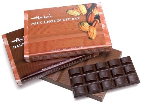 Large 500 g Chocolate Bars
