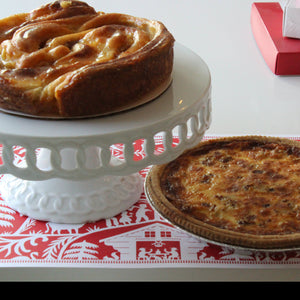 Quiche + Coffee Cake