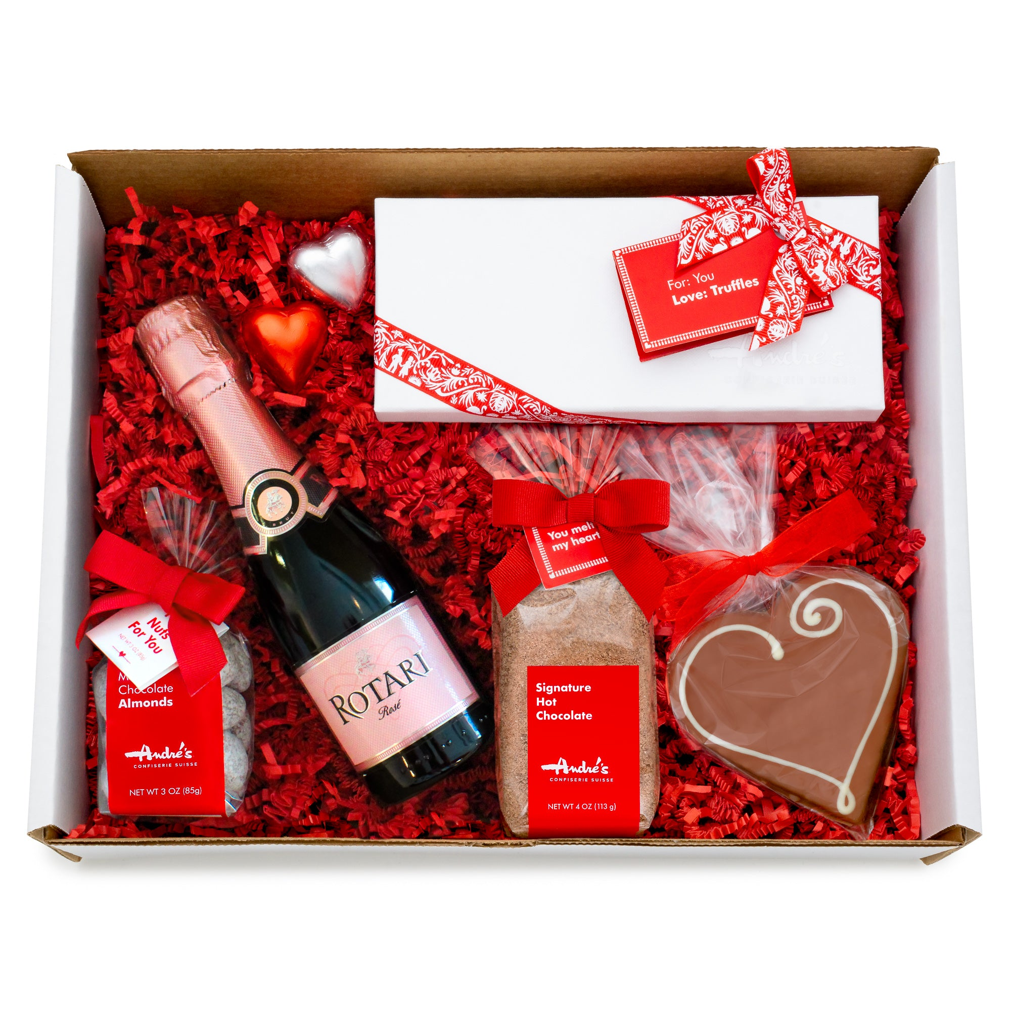 Liquor + Chocolate Date Night Gift Boxes (4 options, pick up only)