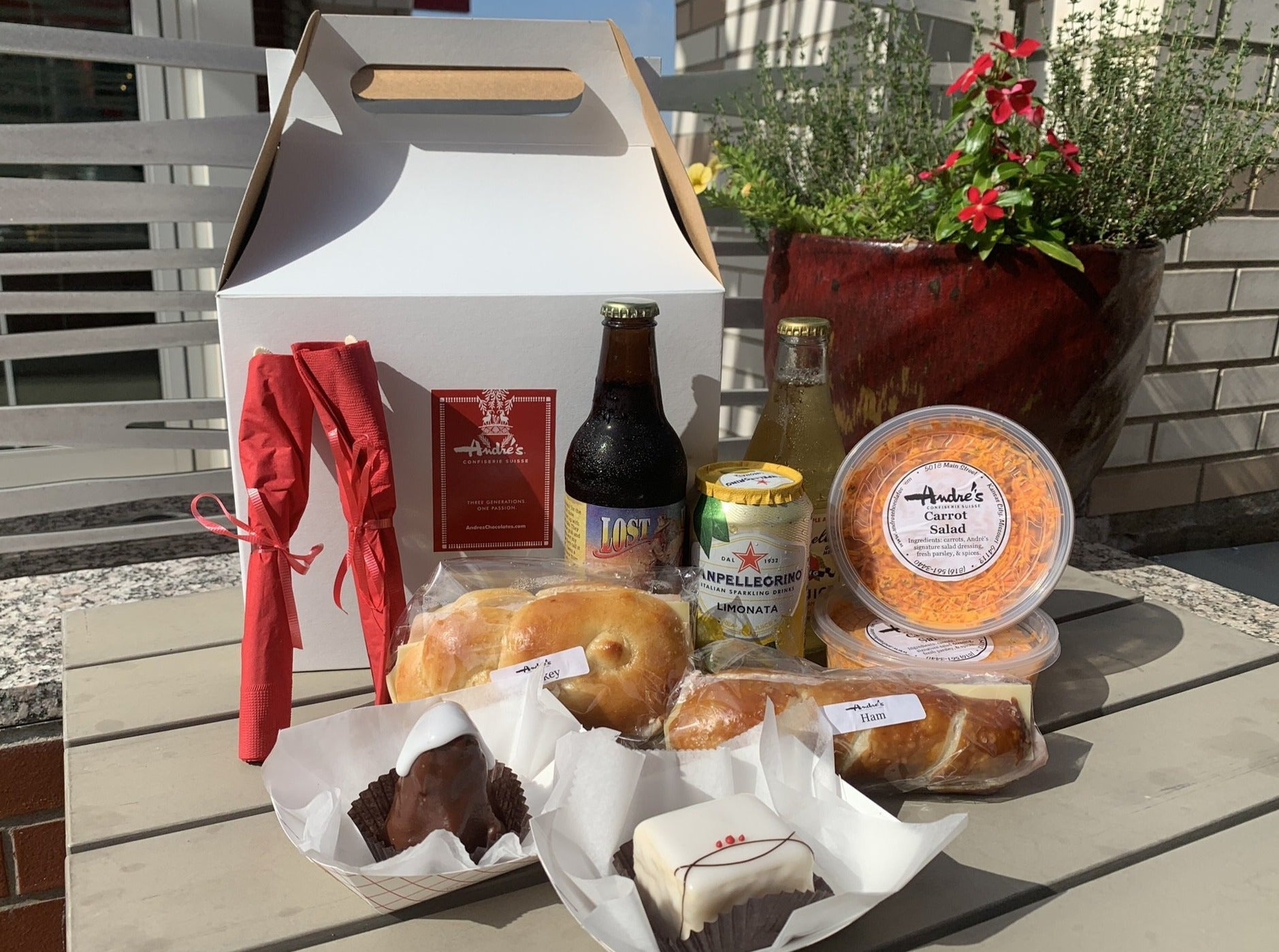 Picnic Pack for 4 (Sandwich, Salad + Desserts for 4) Pick up at 5018 Main St.