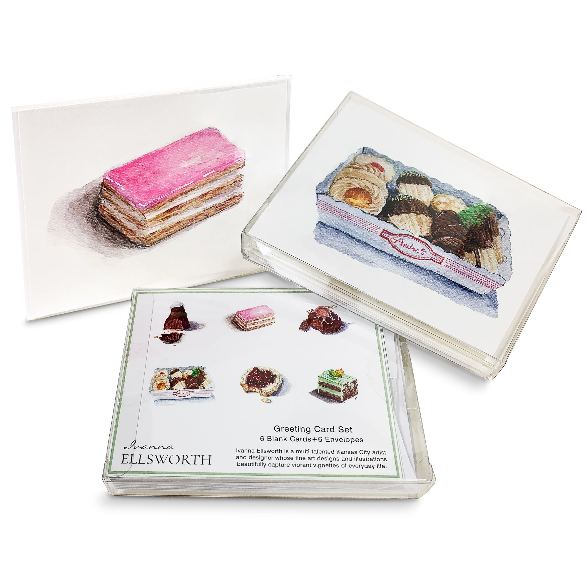 Greeting Cards - André's Desserts