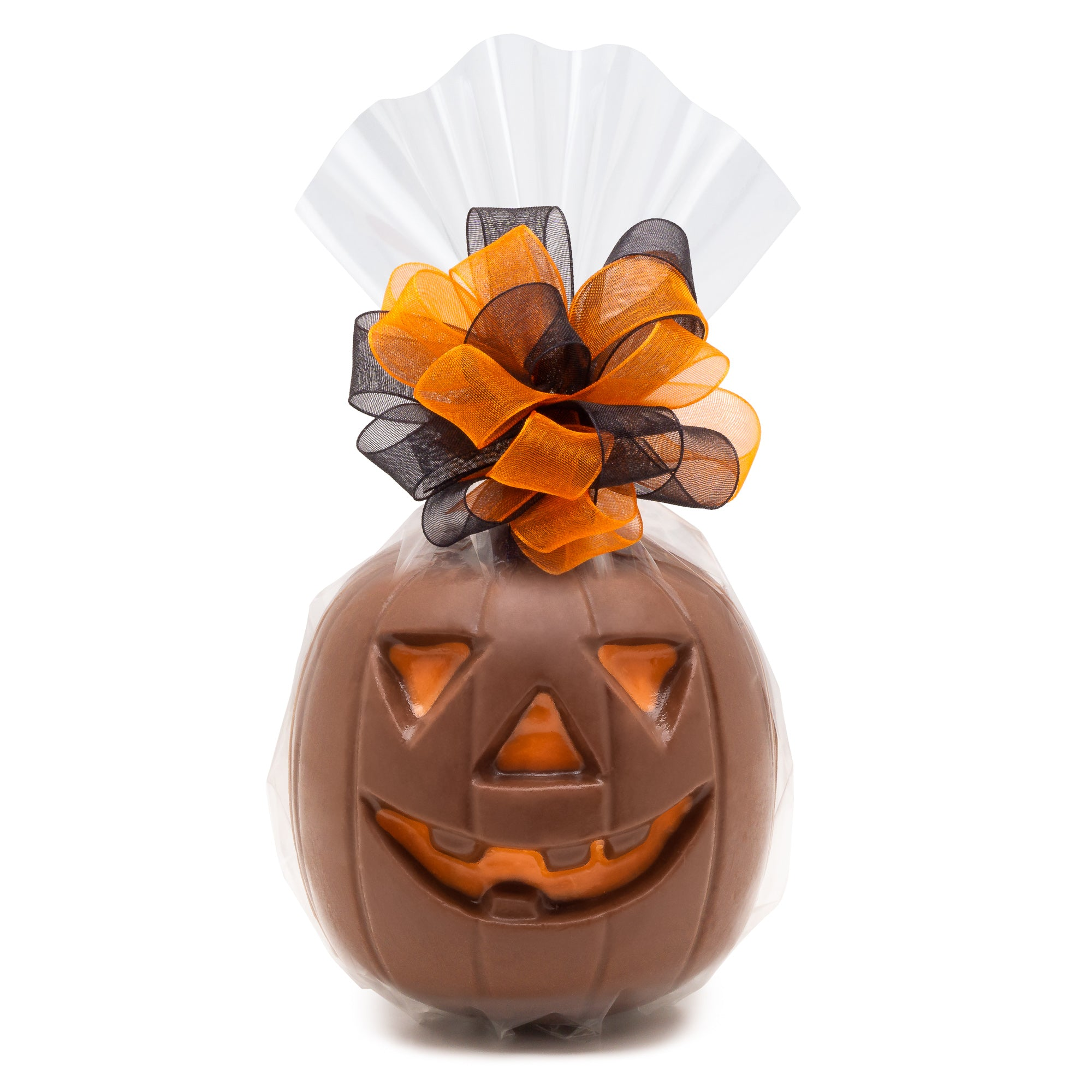 Chocolate Almond Filled Jack O'Lantern