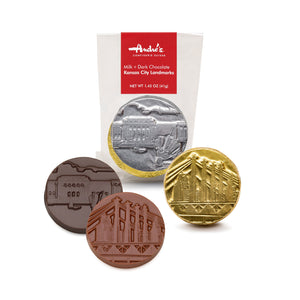Kansas City Landmark Chocolate Disks