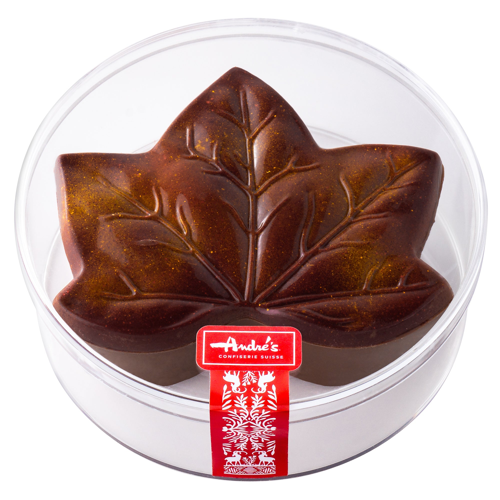 Chocolate Almond Filled Leaf Box