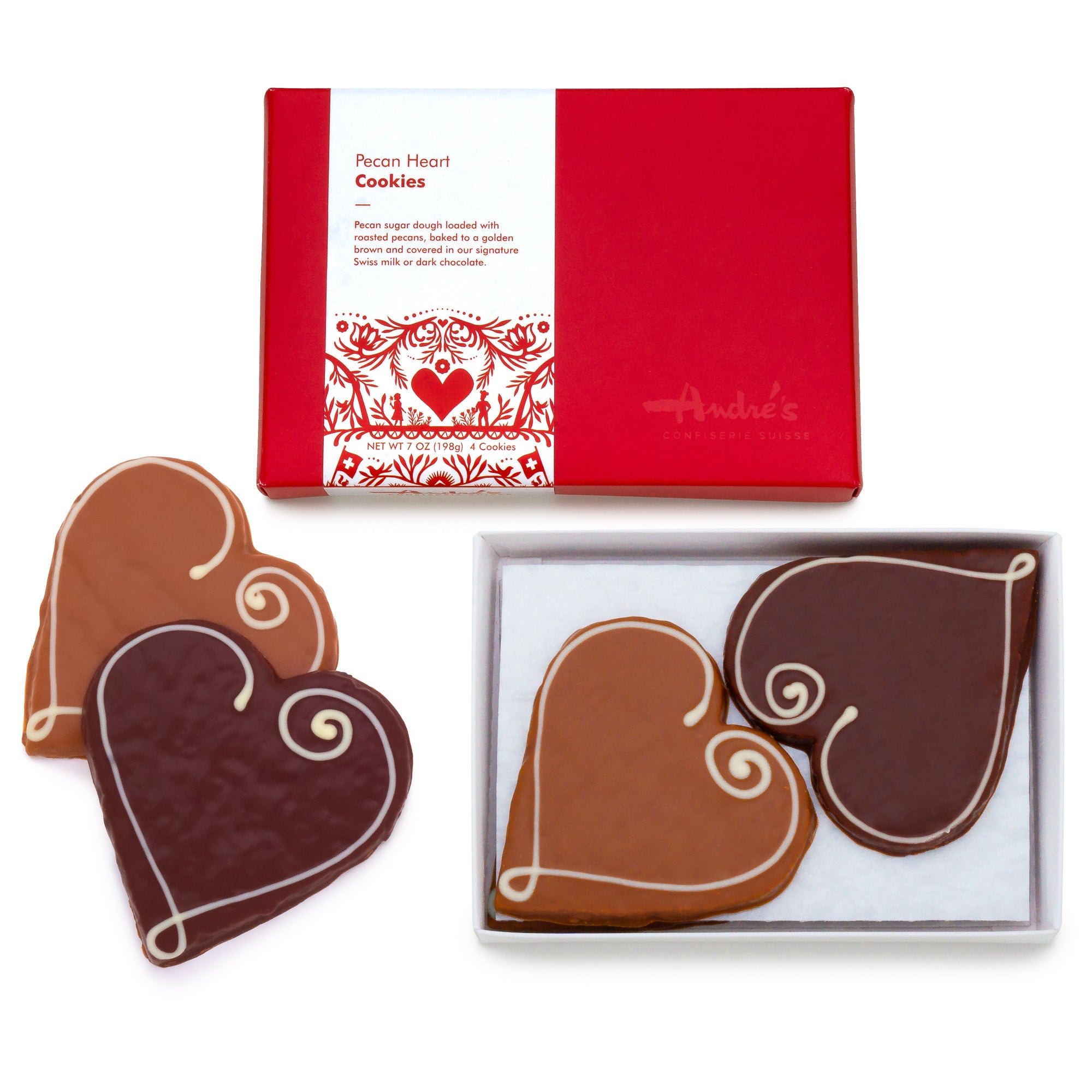 Pecan Heart Cookies (NEW PACKAGING)