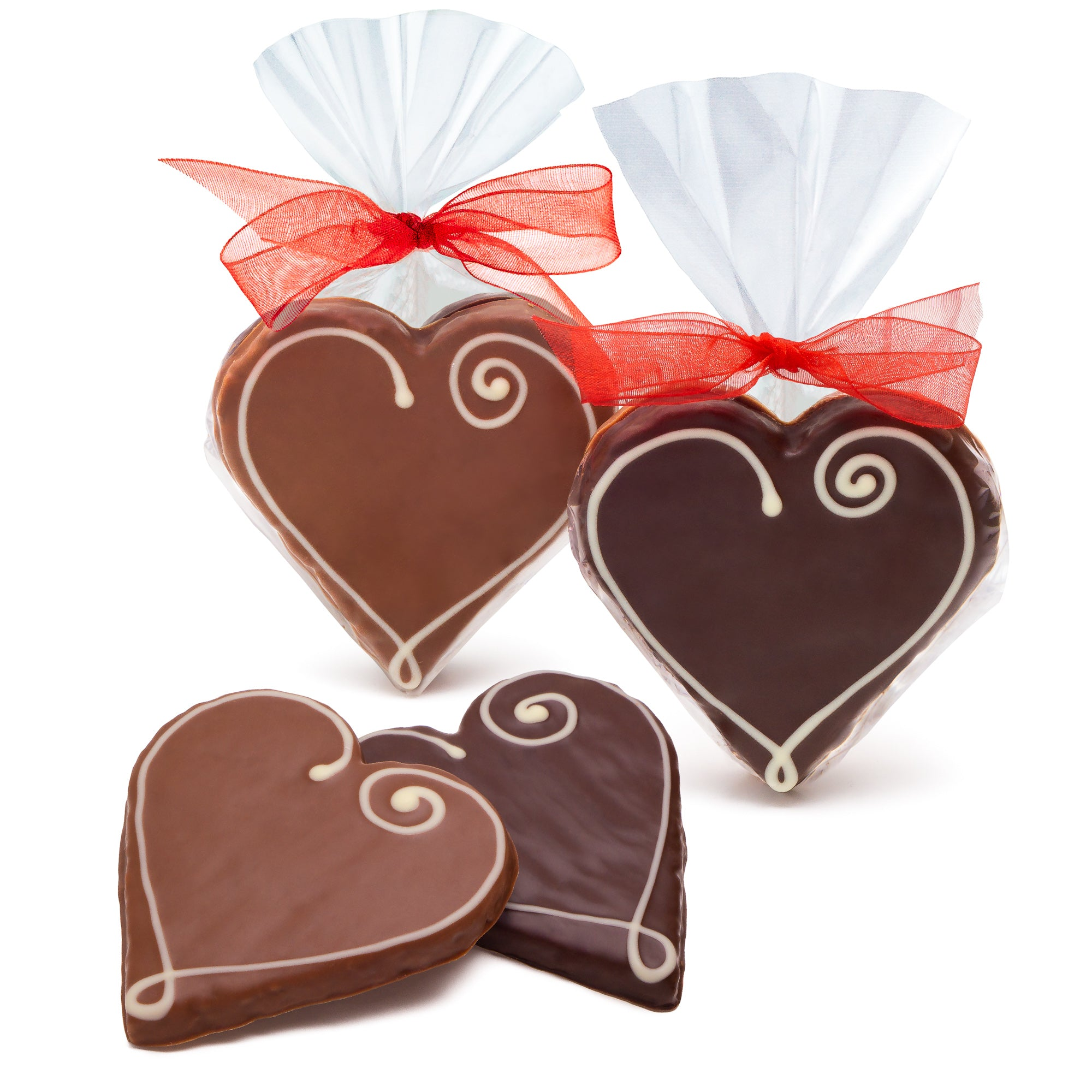 Pecan Heart Cookies - Favor Bag