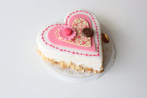 Vanilla or Lemon Heart Tortes (Pick Up Only)