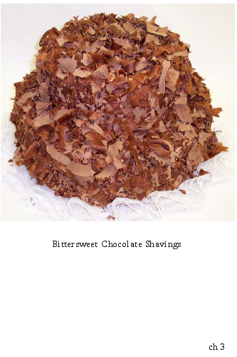 Dark Chocolate Shavings