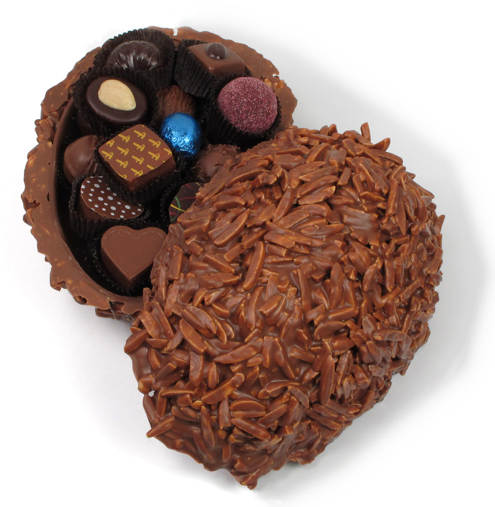 Easter Chocolate Rocher Egg   André's Confiserie Suisse