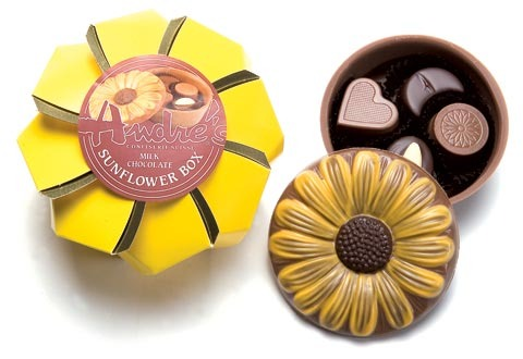 Sunflower Chocolate Box