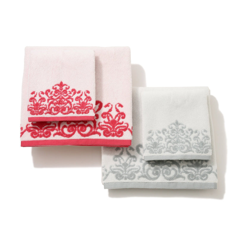 MODERN DAMASK BATH TOWEL RD