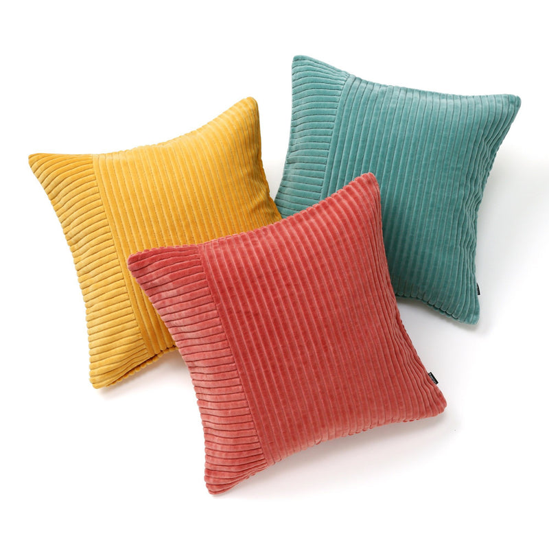 CORDUROY SOLID A CUSHION COVER 45 DOR