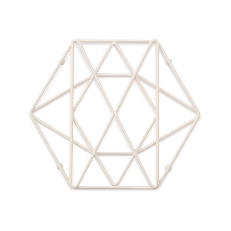 WIRE TRIVET WH