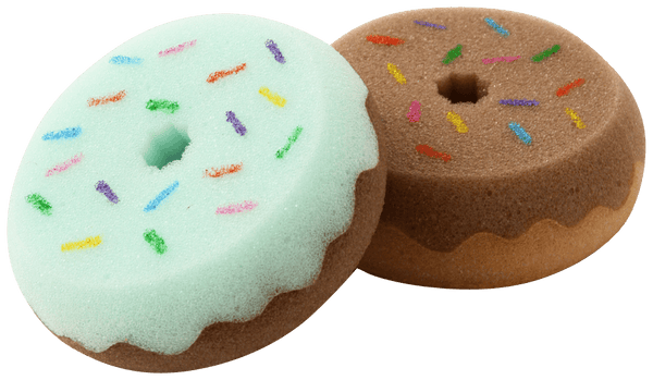 DONUTS Sponge Green x Brown
