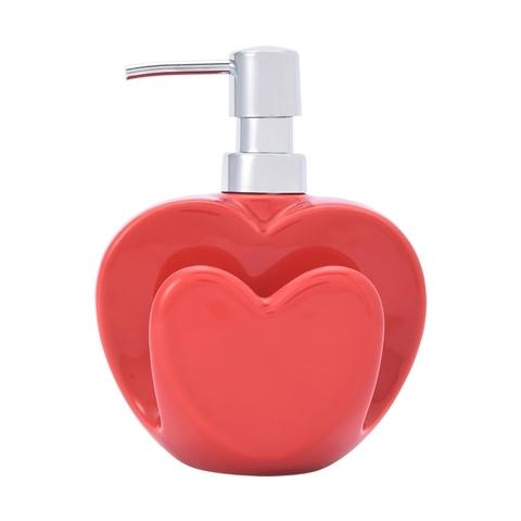 HEART Kitchen Dispenser Red