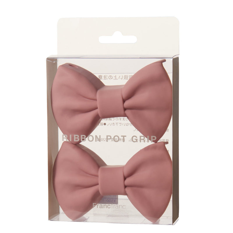 RIBBON POT GRIP Light Pink