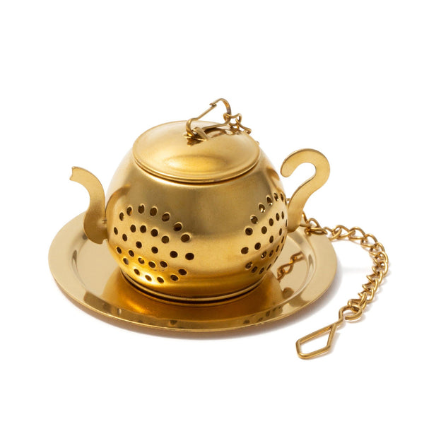 TEA STRAINER POT