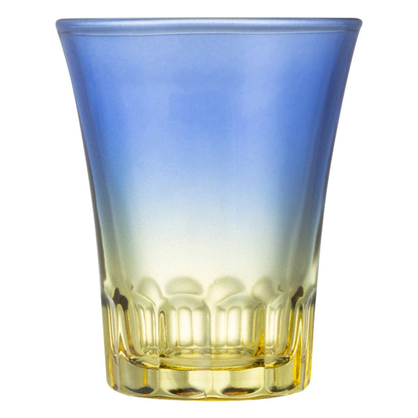 FLARE SAKE CUP Blue x Yellow