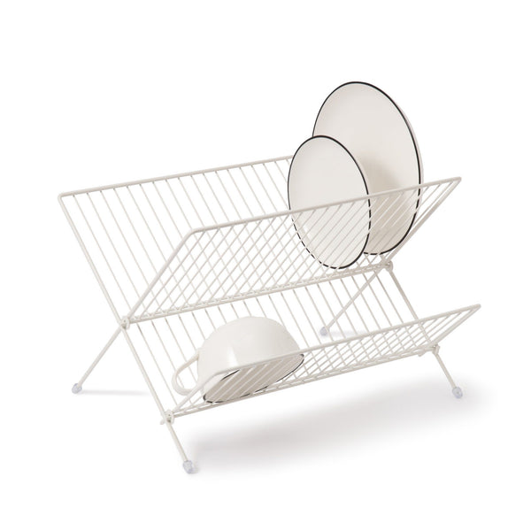 X WIRE DISHRACK WH