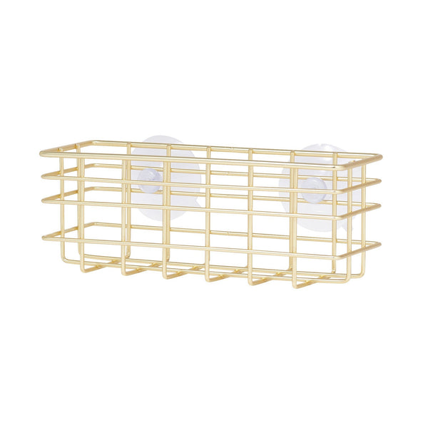 WIRE SPONGE&BOTTLE STAND Gold