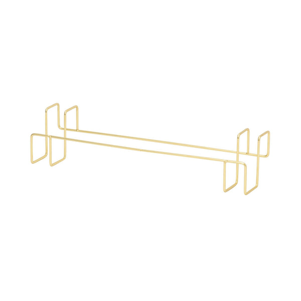 WIRE TOWEL HANGER GOLD