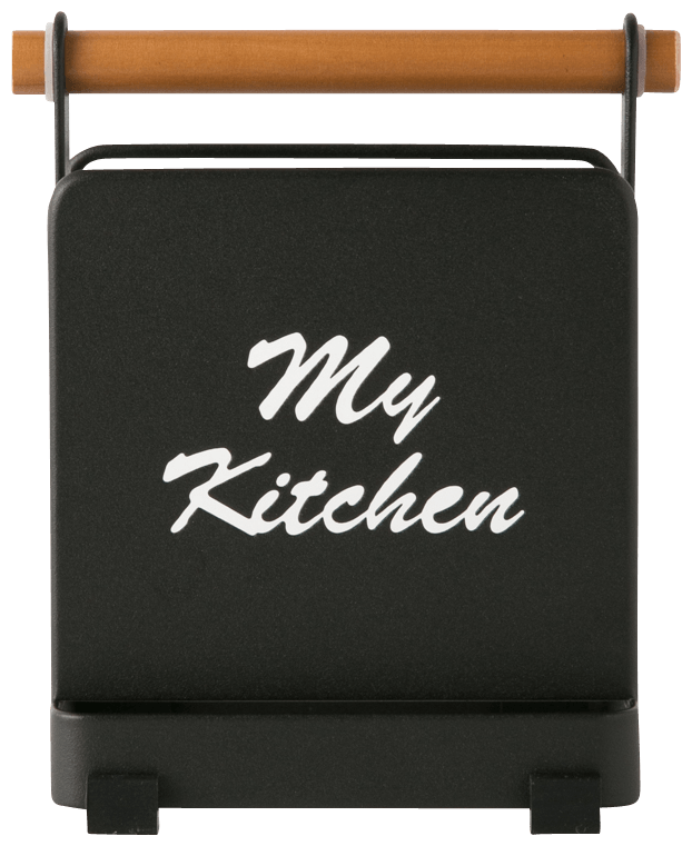 MY KITCHEN CUT BOARD STAND BLACK