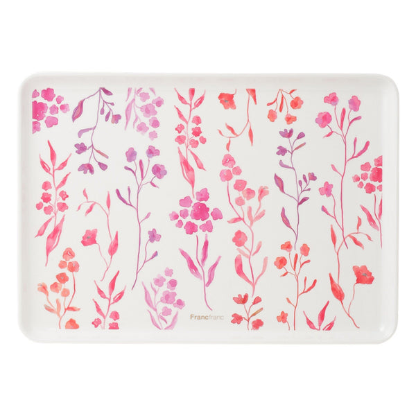 MELAMINE Tray Water Flower Small