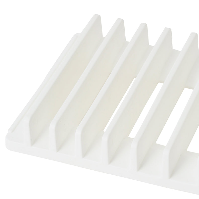DRYING DISHRACK&MAT SET WHITE