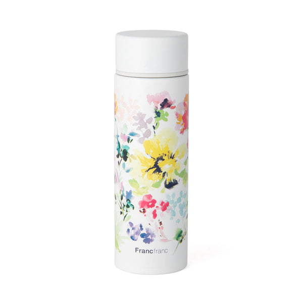 CHOUCHOU MINI BOTTLE FLOWER WHITE