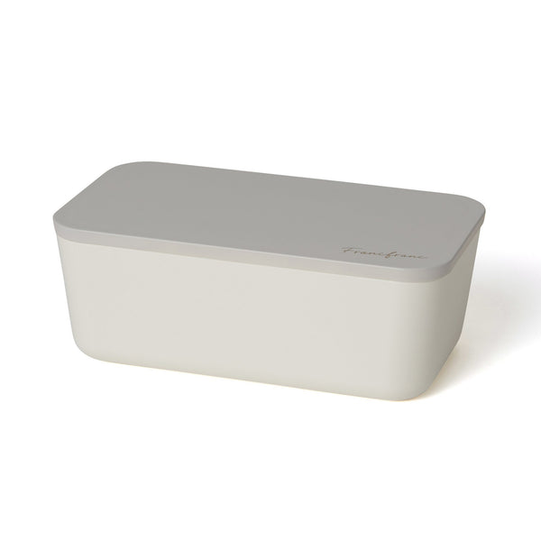 LOGO LUNCHBOX SINGLE-TIER WHITE