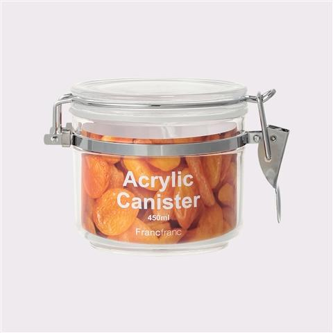 ACRYLIC CANISTER SMALL