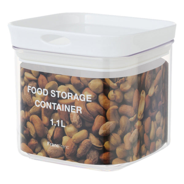 FOOD Storage Container 1.1l White