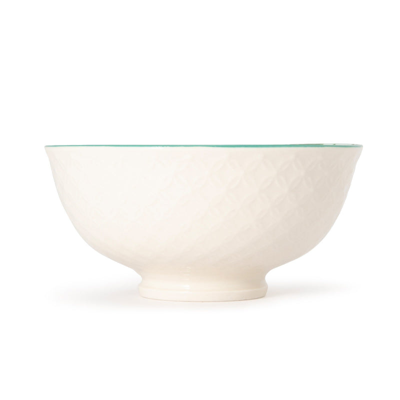 IROIRO20C RICE BOWL PALM TREE