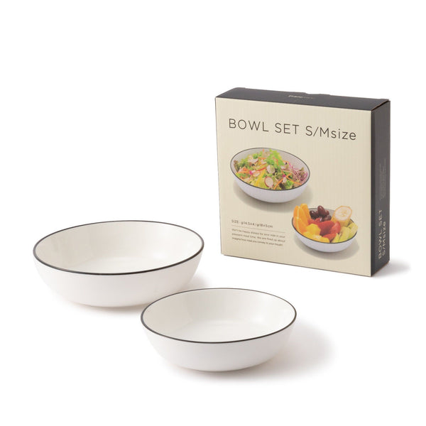ORDI BOWL SET S/M WH