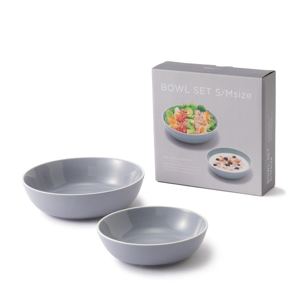 ORDI BOWL SET S/M GY