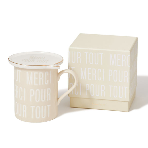 MERCI MESSAGE MUG IV