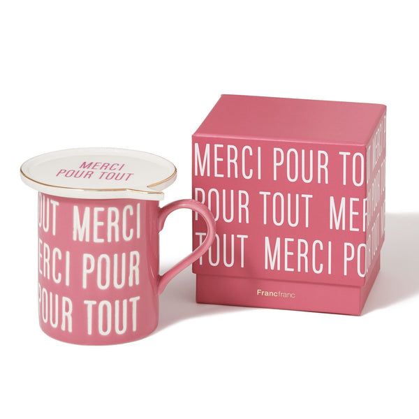 MERCI MESSAGE MUG PK