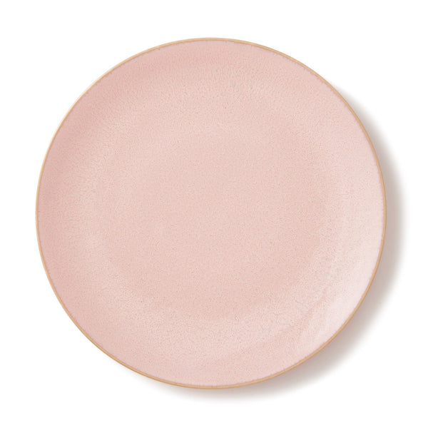 MINOYAKI IRODORI PLATE LARGE LIGHT PINK