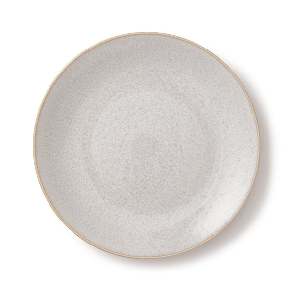 MINOYAKI IRODORI PLATE MEDIUM LIGHT GRAY