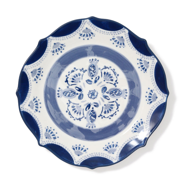 CARINA PLATE Medium Navy