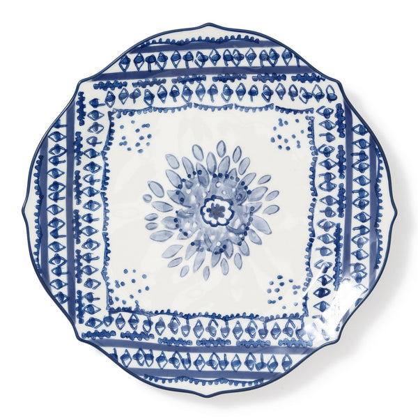 CARINA PLATE Large Navy