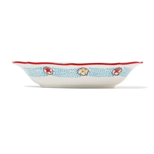CARINA OVAL BOWL Yellow x Red