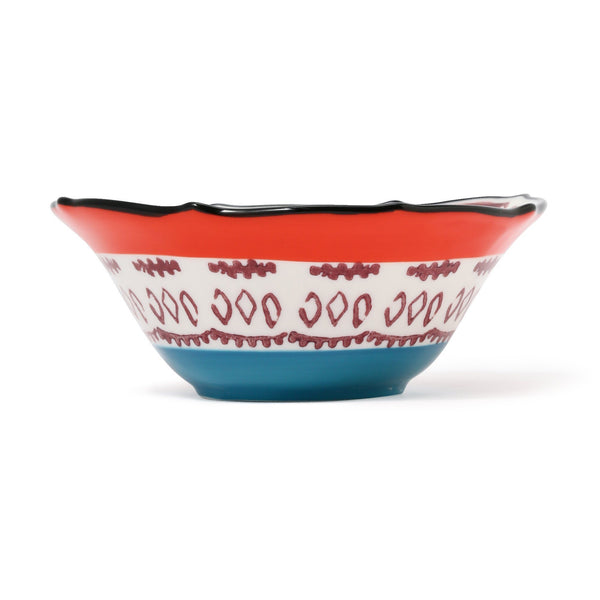 CARINA BOWL Orange x Black